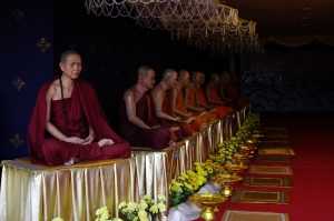 wax monks ayuthaya